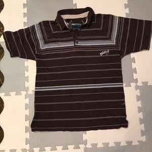 Billabong Striped polo shirt Size S
